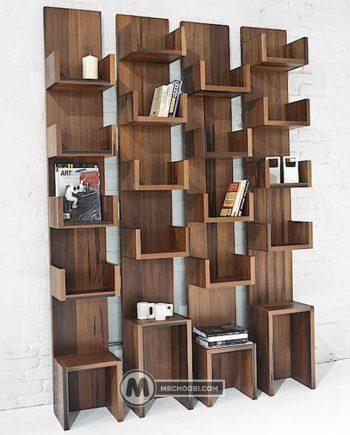 قفسه کتاب مازیار