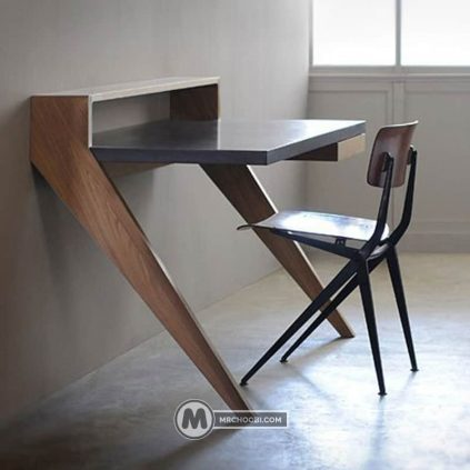 میز دیواری بنفشه