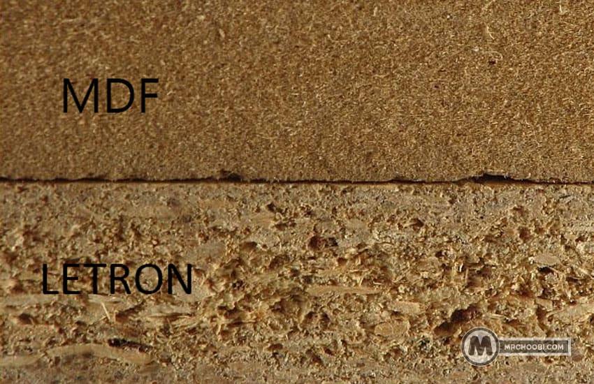 تفاوت لترون و ام دی اف چیست
