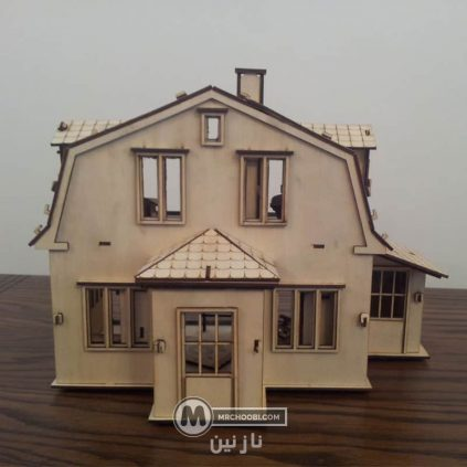 لگو چوبی خانه عروسکی چوبی