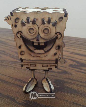 لگو چوبی باب اسفنجی
