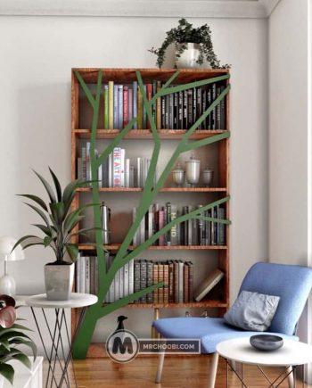 قفسه کتابخانه رادا