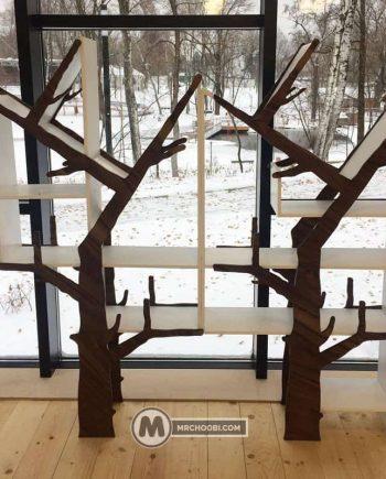 کتابخانه درختی سبزه