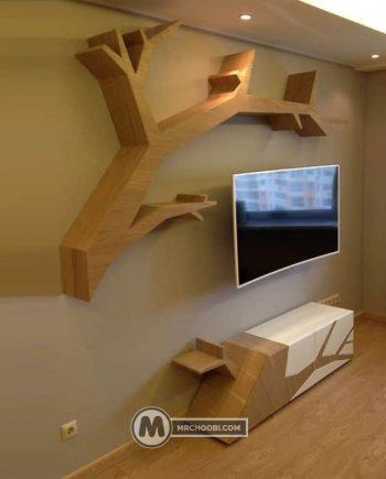 میز تلویزیون درختی سارینا