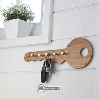 جا کلیدی چوبی ژرفا
