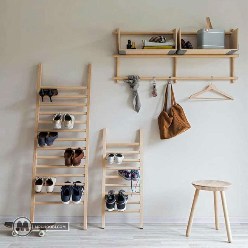 خرید جا کفشی چوبی