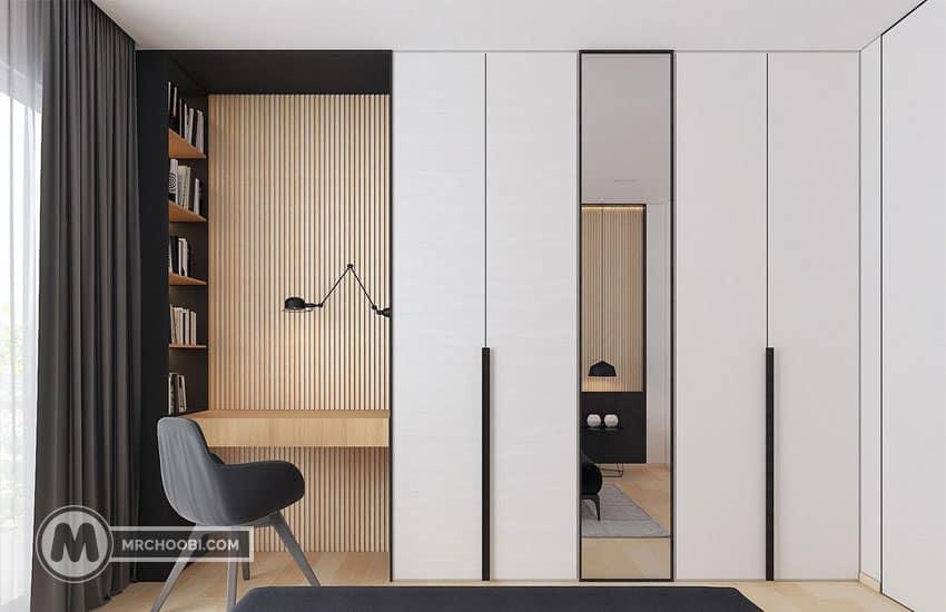 دکوراسیون منزل با کمد دیواری