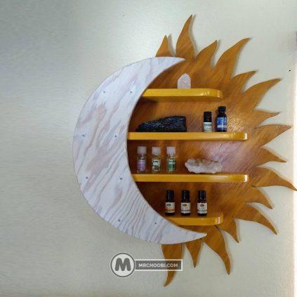 شلف دیواری خورشید
