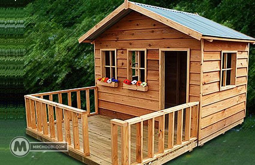 خانه و کلبه چوبی کودک