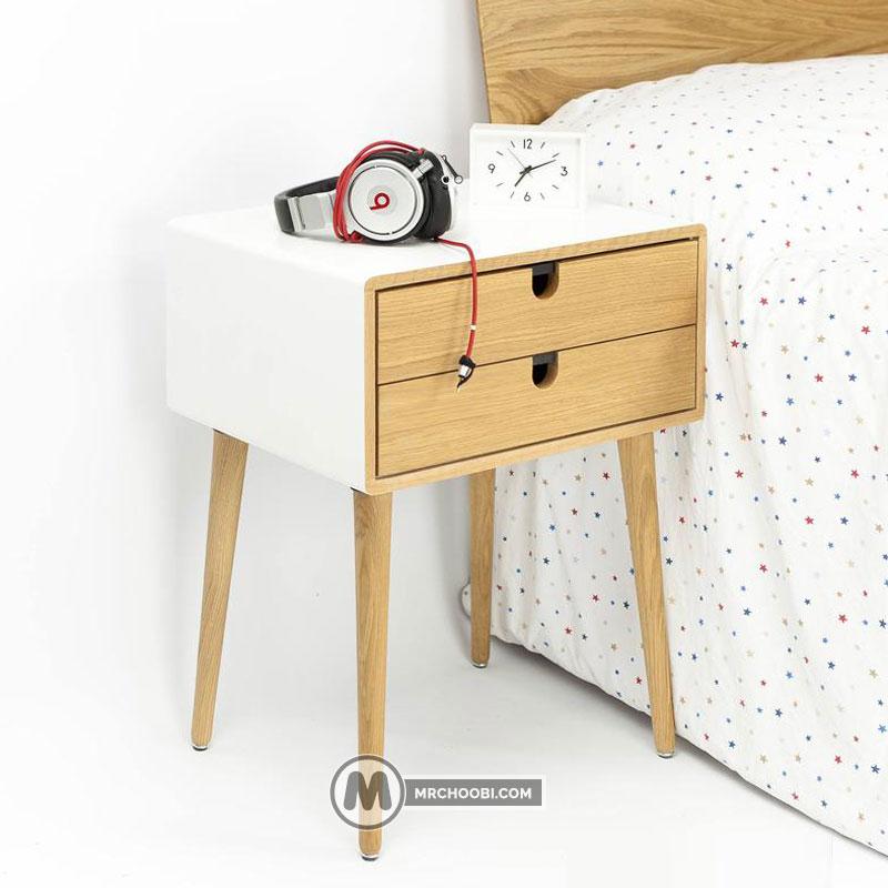 میز کنار تختی سانا